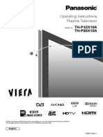 Panasonic TH-P50X10A.pdf