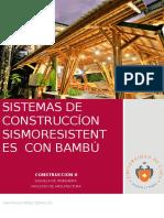 Sistemas de construcción con bambú