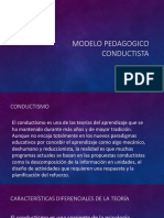 Modelo Pedagogico Conductista