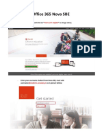 ENG-Office 365 Nova SBE