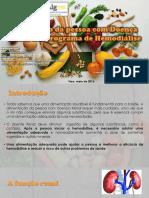 Nutrição Da Pessoa Com Doença Renal Crónicaalterado