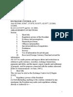 Tanzania Exchange Control Act 2004