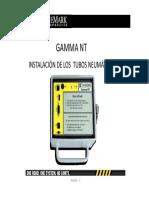 Instalación de Aforadores Gamma NT