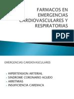 Farmacos Cardiovasculares y Respiratorios