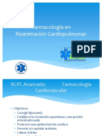 6) Farmacologia en RCP