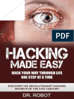 Hacking Made Easy by Dr. Robot and Hacking University