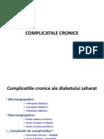 Diabetul Zaharat Complicatii Cronice
