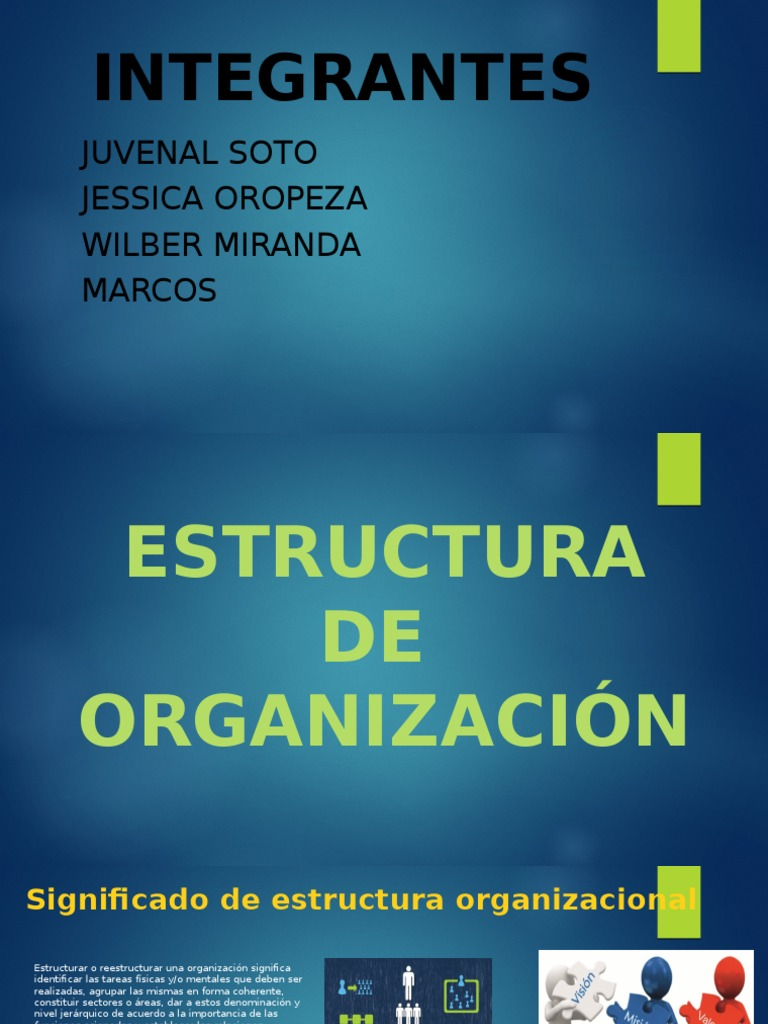 Tipos De Estructura De Organizacion Recursos Humanos