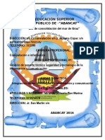 Instituto de Educación Superior Tecnológico Público de Abancay
