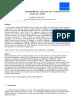 Relación entre pendiente y rugosidad para el diseño óptimo de canales