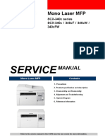 Samsung Scx-340x Series Service Manual