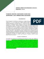 1SCJN-ADR, 2190-2014, Detención Ilegal, Flagrancia, Prueba Ilícita, Detenci_on Prolongada