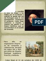 Conquista y Colonizacion de America Presentacion