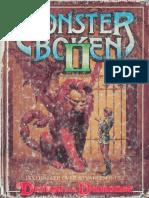01-502 - Monsterboken II