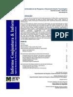 Conjuntura e Informação ANP 87