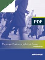 Manpower Employment Outlook Survey