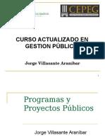 actualizacion en gestión publica