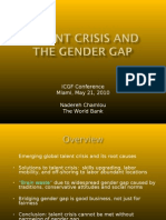 Nadereh Chamlou Talent Crisis and Gender Equality English