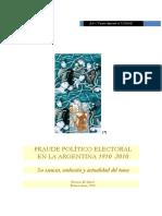 Fraude Político Electoral en Argentina 1810-2010 Lynch Horacio