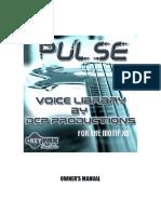 Pulse XS Manual