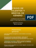 Nadereh Chamlou CRISIS DE TALENTOS Y BRECHA DE GÉNERO Espanol