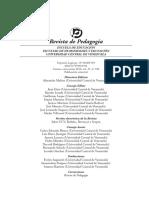 Revista de Pedagogía, N° 100, Edic. Aniversario