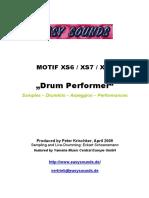 MOTIF XS_Drum Performer E