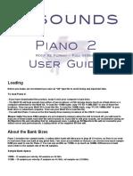 Piano 2 XS User Guide