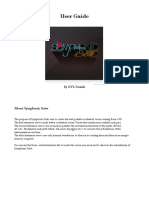 User Guide Symphonic Suite PDF