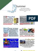 Summer Reading Program Flyer 2010