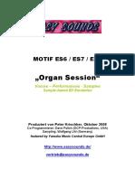 MOTIF ES_Organ Session D