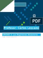 REGIMENES DE IMPORTACIONES (1) (1) (2)