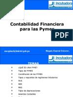 Taller de Contabilidad Financiera Para Las Pymes