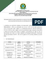 Edital de Selecao Especializacao Em Gestao e Qualidade Em Tic 4