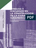 Lenguas y Discursos en La Construcción de La Ciudadanía Sudamericana