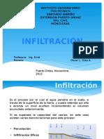 Hidrologia e Infiltración