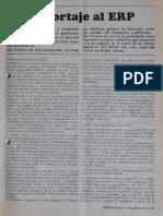 1971 Enero. Reportaje Al ERP
