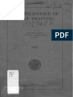 WD1922 - Technique of Army training.pdf