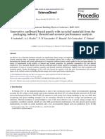 Asdrubali - Paneles de Carton Estudio Termico y Acustico