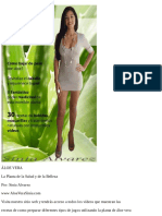 Aloe Vera - La Planta de La Salud y de La Belleza