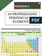 Propriedades Periódicas Dos Elementos