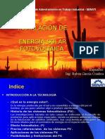 Energía Solar Ing. Ruben García