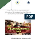 Torneo de Debates - Precondepc TACNA 2016