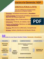 De La Burocracia a La Gerencia;NGP