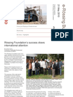 e-Rössing Bulletin 21 May 2010
