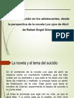 El Suicidio desde la ejemplificación de la novela Los ojos de abril