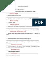 Certamen 1 Bromatología 2014