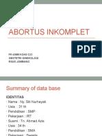 Ppt Kasus ABORTUS