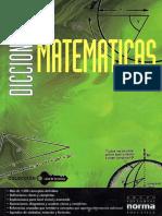 Diccionario matematicas