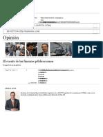 El Cuento de Las Finanzas Públicas Sanas _ La Silla Rota